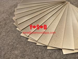 China 1mm Thin Diamond Knife Tool Sharpening Stone Square Plate Whetstone 80-3000 Grit on sale