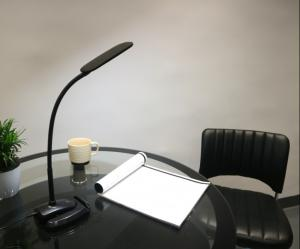 China LED Desk Lamp Eye Caring Touch Control 3 Lighting Modes Table Reading Light with Phone Stand Holder on sale