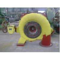 Horizotal Shaft Francis Hydro Turbine / 500KW Francis Hydro Power Plant for renewable energy