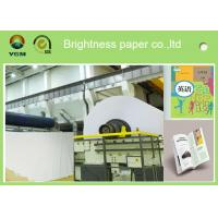 A4 Compatible Offset Printing Paper / Book Printing Paper High Brightness