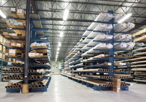 China Double Side VerticalCantilever Storage Racks Shelves for Long Pipes and Tubes on sale