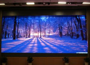 China P7.62 Inside IE Stage Rental LED Display Colorful Screen 1 / 16 Scanning Driving Method on sale