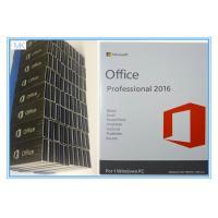 OEM Microsoft Office Professional Plus 2016 Key , Windows Office Pro 2016 USB Flash Englsih