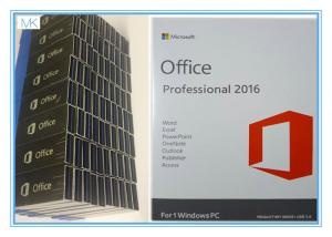 China OEM Microsoft Office Professional Plus 2016 Key , Windows Office Pro 2016 USB Flash Englsih on sale