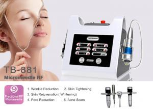 China Micro Needle Fractional RF For Skin Tightening Anti wrinkle Frequency Machine on sale