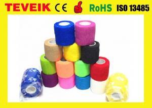 China Latex free Medical Supply Printed Cohesive Elastic Bandage on sale