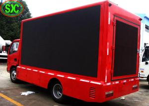 China mobile truck p8 smd 3535 led display,  Led Advertising Screens,  flexible use on sale
