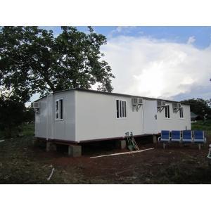 Quality O abrigo portátil modular da emergência, casas pré-fabricadas dobráveis/corrugou telhas for sale