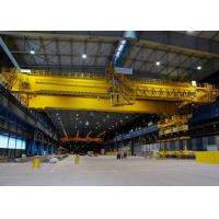 25 Ton Double Girder Overhead Crane Lifting Equipment Warehouse Optional Color