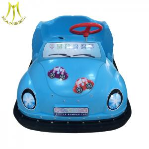 China Hansel kids coin operated bumper cars sale happy car amusement park rides on sale