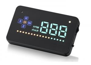 China Audi A4 / A2 Mini Head Up Display GPS HUD Easy Install KM MPH 2 Inch Small Screen on sale