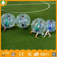 Easily inflatable 1.0mm PVC/TPU soccer bubble, inflatable bumper ball,loopy ball