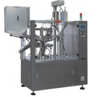 China High Speed Tube Filling Sealing Machine 75 / Min / Max 2.5 X 1.2 X 2.4M Size on sale