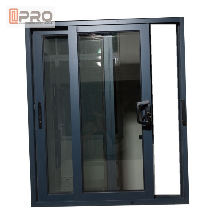Black Color Aluminium Sliding Windows With Insect Protection Window Screen Customized Aluminum Sliding Window Price For Sale Aluminium Sliding Windows Manufacturer From China 109128290
