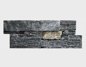 China Black Quartzite Stone Wall Cladding on sale