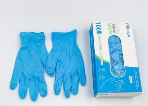 China Disposable Nitrile Gloves Powder Free Examination Protective Vina Gloves Safety Hand Gloves on sale