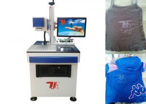 China Laser Printing Machine For T-Shirt , Clothing CO2 Laser Engraving Machine on sale