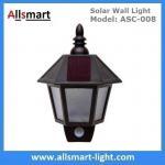 11 Inch Motion Sensor Solar Wall Lights Hexagonal Sconce Aisle Lighting Beautiful Garage Door Garden Lamp