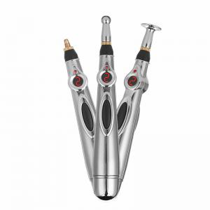 China Professional Handheld Body Massager / Acupoint Massage Stick Stainless Steel Material on sale