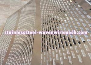 China Galvanized Decorative Perforated Sheet Metal , Perforated Aluminium Mesh Sheet on sale