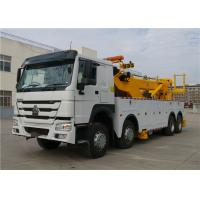 Professional Wrecker Tow Truck 8x4 371hp 40T 12 Wheels 40 tons Commercial Tow Truck