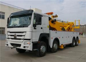 China Professional Wrecker Tow Truck 8x4 371hp 40T 12 Wheels 40 tons Commercial Tow Truck on sale
