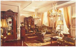 Luxury Villa/European Antique Living Room Furniture,Wood Cabinet,Sofa Set ,VS 003 Part 96