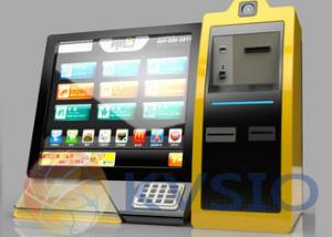 China Internet Automated Financial Bill Payment Kiosk on sale