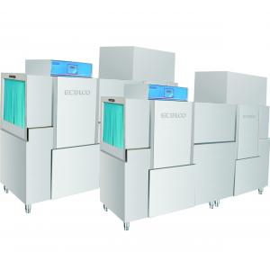 Quality 380KG Stainless Steel Commercial Dishwasher 80-100 ℃ Drying , Hotel Dishwasher for sale