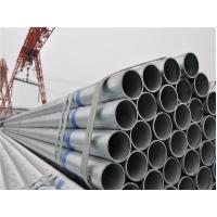 China S235 / S275 / S355 Hot Dip Galvanized Steel Pipe , Zinc Coating Piping on sale