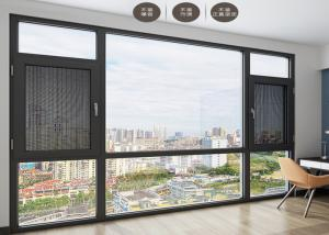China Anti Theft Double Glazed Sliding Doors Shock Resistant For Seal Balcony on sale