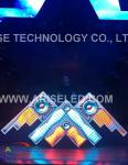LED Honeycomb-P5-3.259,Creative LED Displays Led Stage Screen-DJ screen/LED DJ booths