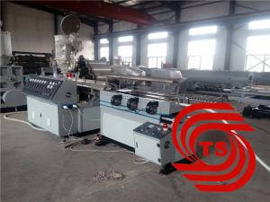 China PVC PE Single Wall Corrugated Pipe Machine With High Performance Corrugated Pipe Machine on sale