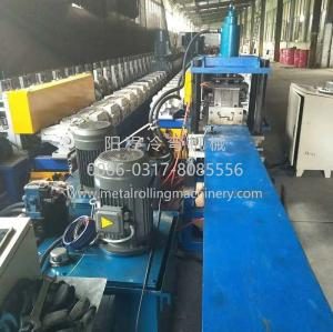 China YC Steel Door Frame Roll Forming Machine on sale