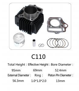 China Original Motorcycle Cylinder Kit C110 For Dayang Motor , Motorcycle Engine Parts on sale