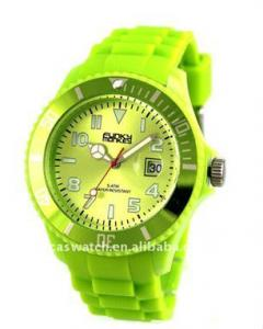 China 2013 Hot sale silicone quartz analog watch for unisex OEM ODM on sale