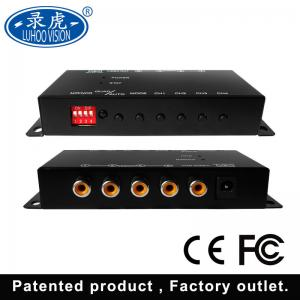 China HD SD Mini Vehicle Mobile DVR 4CH Video Audio Recorder 1920 * 1080P Resolution on sale