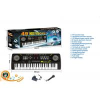 49 Keys Electric Keyboard Dual Power Kids Toy Piano W / Mic Powered By AA Batteries