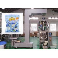 Cotton / Candy Packing Machine , High Speed Automatic Vertical Packing Machine