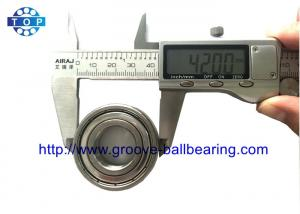 China S6004ZZ S6004 ZZ Bearing Radial Ball , Deep Groove Bearing Food Grade Stainless on sale