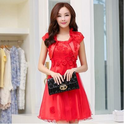 Red Classic Womens Suit Dress For Sale Womens Suit Dress