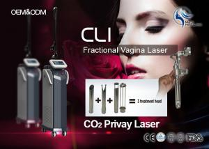 China Professional 10600nm Metal tube RF Fractional Co2 Laser Machine For Beauty Salon on sale