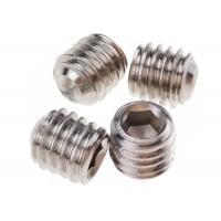 M5 x 10mm Stainless Steel Grub Screws Hexagonal Socket Cup Point DIN 916
