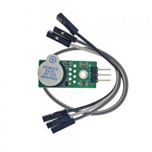 China High Level Trigger Active Buzzer Module 5V With 3 Pin Cable Transistor on sale