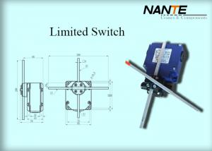 China Blue Electric Wire Rope Hoist Steel Holding Limited Switch Used In Hoist And Complex Crane System on sale