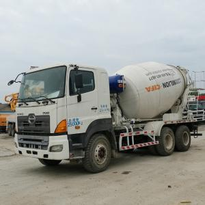 China Best Quality Hino 700 Zoomlion Concrete Mixer Truck  Mixer pump Truck 10 CBM for sale on sale