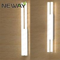 China Double Lines Contemporary LED Tube Light Wall Lighting 50MM Dia.1000MM 1200MM 1500MM WarmWhite 3000K NaturalWhite 4000K on sale