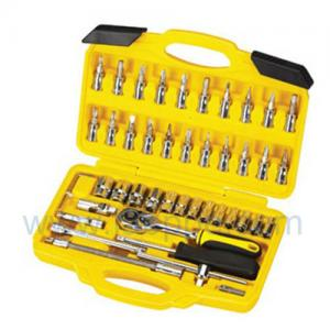 "Quality TSN46-1/4 "" +1/2"" ensemble de prise de main de Dr. Cr-v 46pcs., trousse à outils for sale"