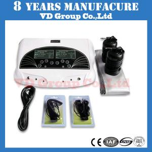 China dual negative hand and far infrared ion spa ioninfra best body ionizer life ionice ionic foot detox machines for feet on sale