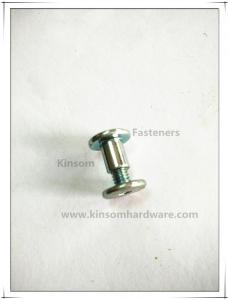China Special semi-tubular rivets combination Female-male screws with hex socket flat head on sale